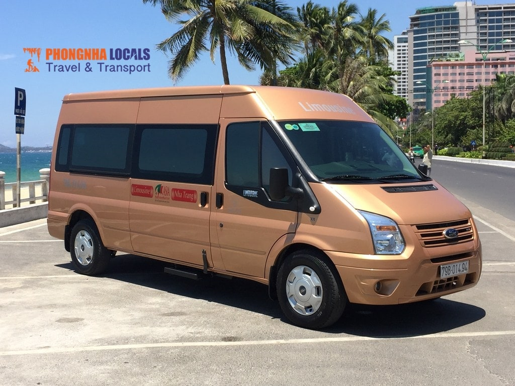 Phong Nha to Hue by Limousine - Phong Nha Locals Travel