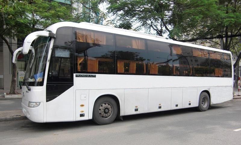 Bus Phong Nha to Da Nang/ Hoi An