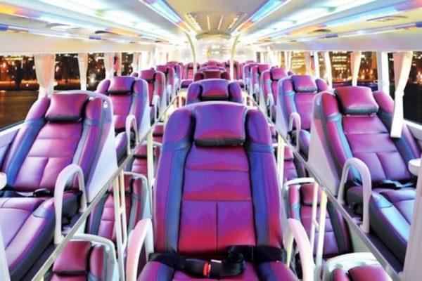 Bus Phong Nha to Ha Noi- Phong Nha Locals Travel