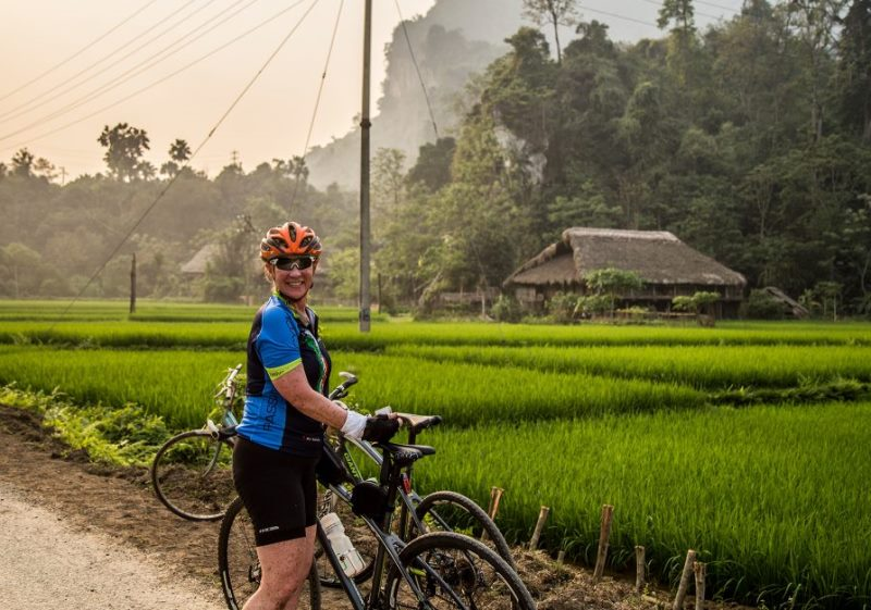 Biking on the Ho Chi Minh Trails in Phong Nha