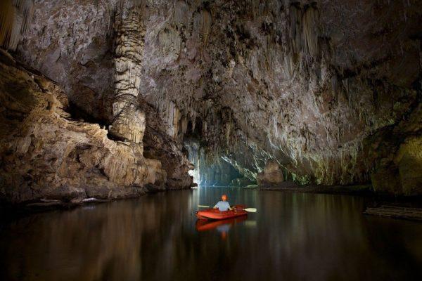 Phong Nha Cave Expedition 4.5 km by kayak