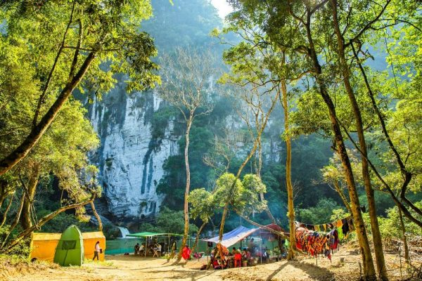 Tu Lan Camp site- Phong Nha Locals Travel